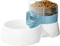 Fontánka Pet Feeder s miskou pre kŕmenie EBI modrá 28x1
