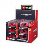 Bburago 1:64 Ferrari Race & Play - mix variantov či farieb