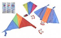 Drak lietajúce nylon 45x25cm / 25x28cm / 46x28cm farebný