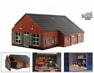 Drevený domček a farma 1:32