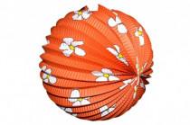 Lampion průměr 25cm v sáčku (bez hůlky) karneval - mix variant či barev