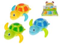 Korytnačka plávajúce 12 cm na natiahnutie - mix farieb