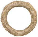 Kroužek slaměný - 15 cm - 10 ks
