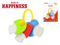 Hrkálka kľúčik 14 cm Baby \ 's Happiness