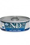 N&D CAT OCEAN Adult Trout & Salmon & Shrimps 80g
