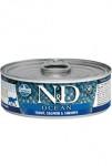 N&D CAT OCEAN Adult Trout & Salmon & Shrimps 80g