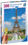 Pohled na Eiffelovu věž 300 dílků