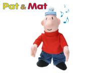 Postavička Mat plyšová 24cm na baterie se zvukem 0m+ Pat a Mat