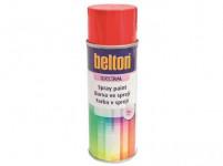 farba v spreji BELTON RAL 9005, 400ml ČER matná