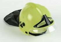 Hasičská helma svietiace