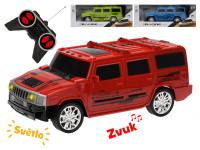 R/C auto terénní 1:14 28 cm plná funkce se světlem na dobíjecí baterii 27 MHz - mix barev
