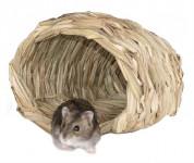 Domček pletený kôš škrečok / myš 15 x 14 x 10 cm