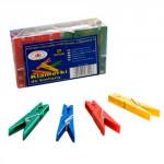 kolíčky na prádlo plastové (20ks) - mix barev