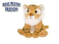 Tygr plyšový 15 cm sedící