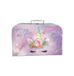 Kufrík Jednorožec ružovo / fialový 35 cm