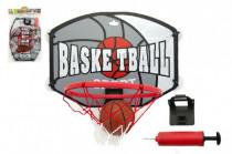 Kôš basketbal + loptu a doplnky plast 40cm