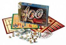 Súbor hier 100-spoločenská hra v krabici 35x23cm