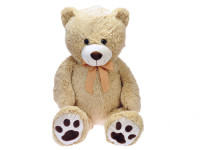Medveď plyšový 100 cm s mašľou