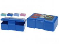 box desiatový 20x13x7cm s klick. uz. plastový - mix variantov či farieb