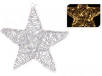 osvetlenie vianočné HVIEZDA 30cm 30LED