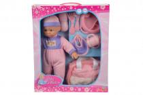 Panenka 30cm Baby Collection, s přísl.