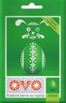 Barva na vajíčka OVO prášková zelená