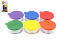 Prstové barvy 6ks x 20ml na kartě 18m+
