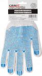 Rukavice textilné s eurozávesom - Falo vel. 10 - 1 pár