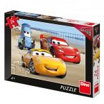 Puzzle 24 dielikov Cars 3: Na pláži