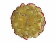 Kvet JIŘINA umelý žlto červený 8cm