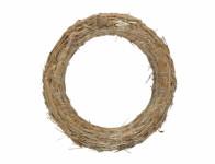 Kruh aranžovaciu slamový 18 / 3cm