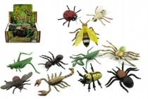 Hmyz plast 13cm mix druhov 48 - mix variantov či farieb