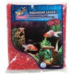 Piesok akvarijné Neon červený Flamingo 1 kg, 4 -7 mm