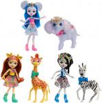 Enchantimals bábika s veľkým zvieratkom - mix variantov či farieb