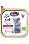 Butcher's Cat Bio s hovězím vanička 85g