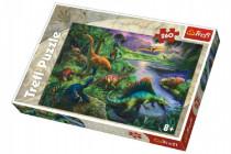 Puzzle Dinosaury 260 dielikov 60x40cm