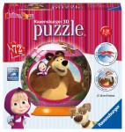 Masha a Medvěd puzzleball 72d