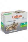 Calibra Cat vrecko Premium Steril. multipack 12x100g