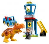 Lego Duplo 10880 Jurassic World T. rex a veža