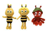Včielka Maja plyšová 22 cm - mix variantov či farieb