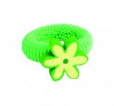 Vlasová ozdoba kytička zelená (min. odběr 4 ks)