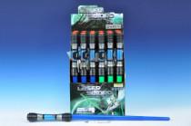 Vesmírný meč svítící plast 83cm na baterie a zvukem - mix barev