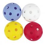 Spokey Domain florbalové míčky 4ks barevné