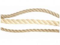 lano prírodné 16mm stáčané s PP (50m)