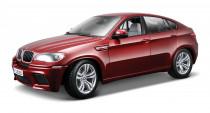 BMW X6 M 1:18 červený