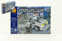 Stavebnica Dromader Polícia Auto 23406