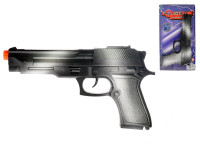 Pistole 22cm na setrvačník jiskřící + pouta