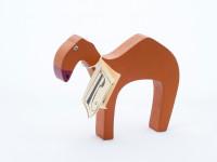 Dřevěný velbloud - hnědý, chráněná dílna Rolnička - VÝPREDAJ