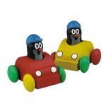 Whistling Mole in a toy car - VÝPREDAJ