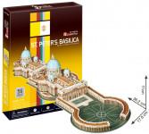 Puzzle 3D Bazilika sv. Petra – 56 dílků